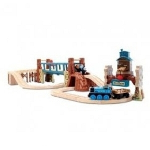 런닝커브/토마스친구들/레일/Thomas And Friends Wooden Railway - Misty IslAnd Adventure Set