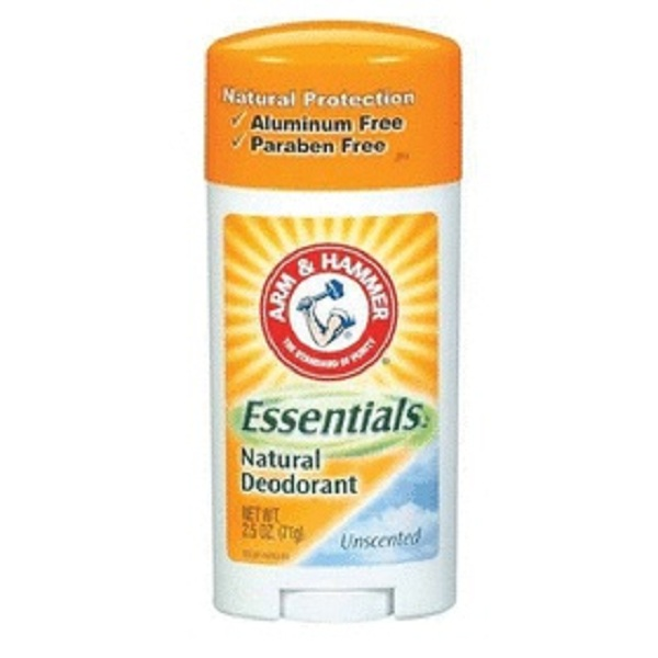 암앤해머 데오드란트 4개배송 Arm & Hammer Essentials Natural Deodorant Unscented 2.5 Oz 4 Pack