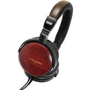 오디오테크니카 포터블 헤드폰/Audio Technica ATH-ESW9A Portable Wooden Headphones