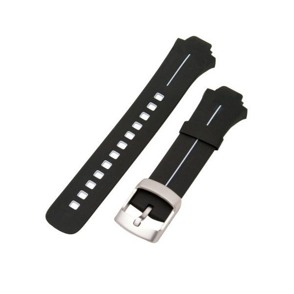 순토 시계줄 Suunto Elastomer Strap Kit for X6HRM, G3, Observers X6HRT Black