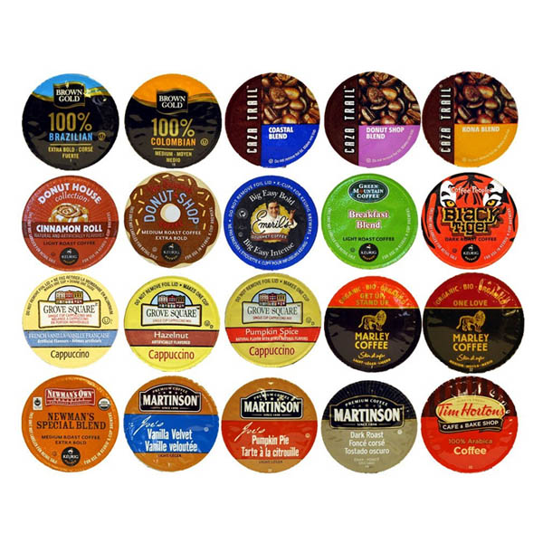 케이컵 큐리그 20팩 20-count K-cup for Keurig Brewers Coffee Variety Pack