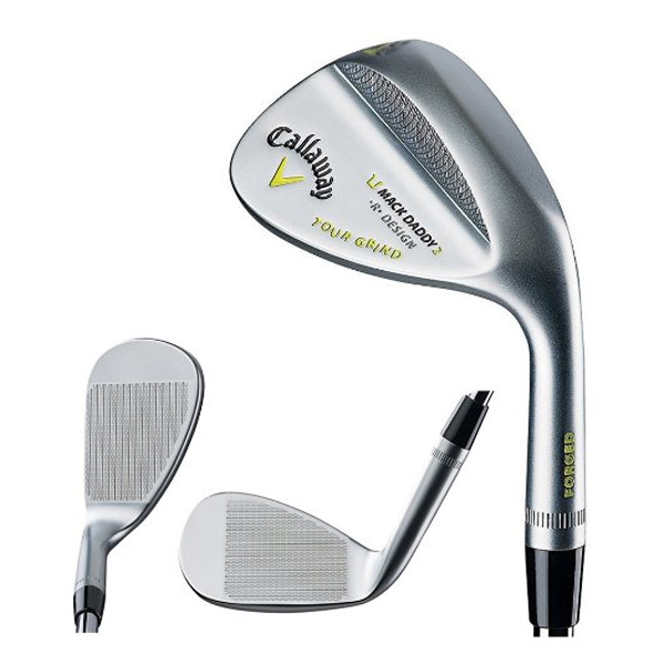 겔러웨이 맥대디투어그라인드 웨지 Callaway Forged Mack Daddy 2 Tour Grind Chrome Wedges