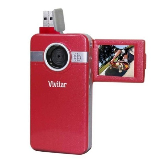 비비타 카메라 Vivitar Digital Video Camera 1.8 Screen