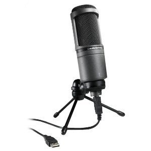 오디오테크니카 USB 마이크/Audio Technica AT2020 USB Studio Condenser Microphone