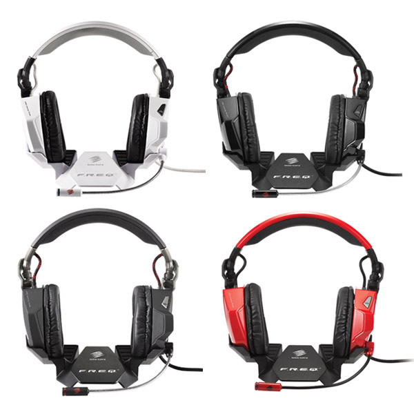 메드캣츠 게이밍 헤드셋/이어폰/게임용/ Mad Catz F.R.E.Q. 7 Surround Sound Gaming Headset for PC