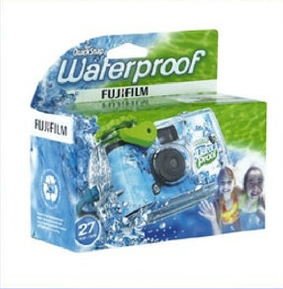 후지필름/방수 퀵스냅 카메라/Fujifilm Quick Snap Waterproof 35mm Single Use Camera