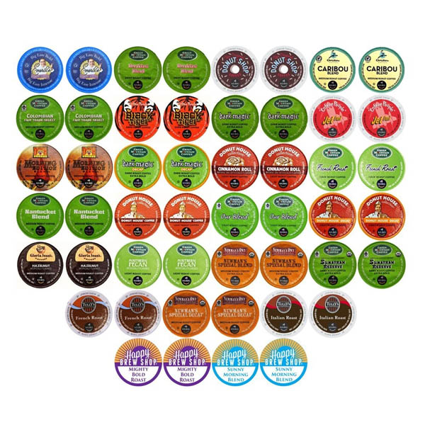 케이컵 샘플러팩 50 50-count TOP BRAND COFFEE K-Cup Variety Sampler PacK Keurig Brewers