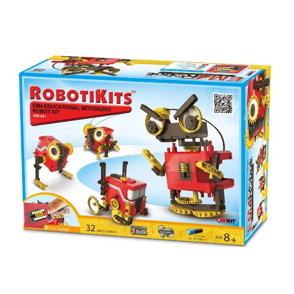 모터 로봇 키트 OWI 4 Mode EM4 Motorized Robot Kit