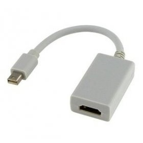 맥/케이블/Generic Mini DisplayPort to HDMI Female Adapter Cable for Apple Macbook Macbook Pro
