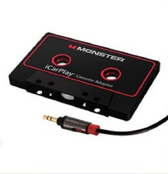 카세트 플레이어 카팩 Monster iCarPlay Cassette Adapter 800 for iPod and iPhone