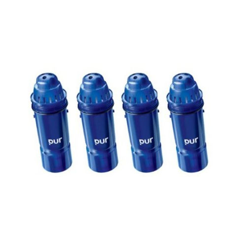 퓨어 2단계 정수기 필터 3팩 4팩 PUR 2-Stage Water Pitcher Replacement Filter