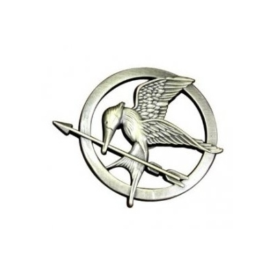 헝거게임 핀 The Hunger Games Movie Mockingjay Prop Rep Pin